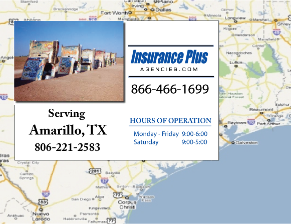 Insurance Plus Agencies of Texas (806)221-2583 is your Mexico Auto Insurance Agent in Amarillo, Texas.