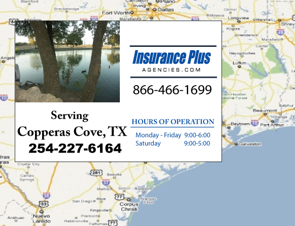 Insurance Plus Agencies of Texas (254)227-6164 is your Progressive Boat, Jet Ski, ATV, Motor Coach, & R.V. Insurance Agent in Copperas Cove, Texas.