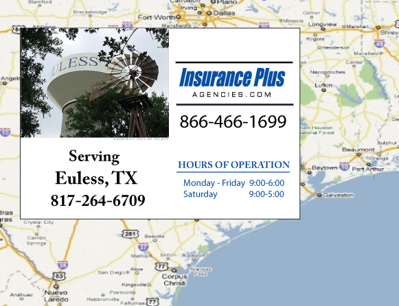 Insurance Plus Agencies of Texas (817)264-6709 is your Progressive Boat, Jet Ski, ATV, Motor Coach, & R.V. Insurance Agent in Euless, Texas.