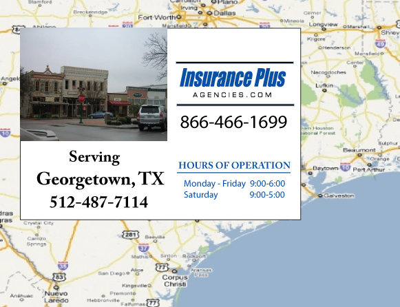 Insurance Plus Agencies of Texas (512)487-7114 is your Progressive Boat, Jet Ski, ATV, Motor Coach, & R.V. Insurance Agent in Georgetown, Texas.