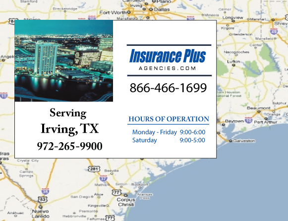 Insurance Plus Agencies of Texas (214)296-4374 is your Event Liability Insurance Agent in Irving, Texas.