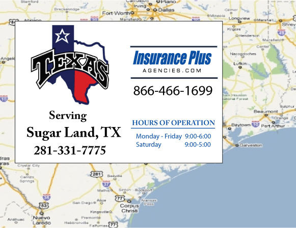 Insurance Plus Agency Serving Sugar Land Texas