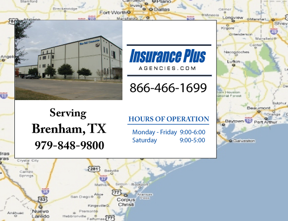 Insurance Plus Agencies of Texas (979)848-9800 is your Salvage or Rebuilt Title Insurance Agent in Brenham, Texas.