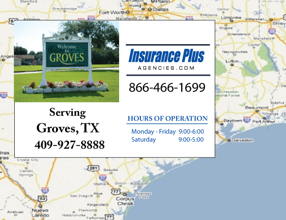 Insurance Plus Agencies of Texas (409)927-8888 is your Salvage or Rebuilt Title Insurance Agent in Groves, Texas.