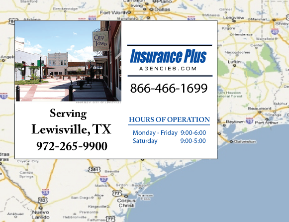 Insurance Plus Agencies of Texas (903)258-9007 is your Salvage or Rebuilt Title Insurance Agent in Lewisville, Texas.