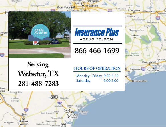 Insurance Plus Agencies of Texas (281)488-7283 is your Salvage or Rebuilt Title Insurance Agent in Webster, Texas.